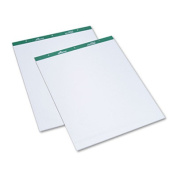 Flip Chart Pads, Quadrille Rule, 27 x 34, WE, 2 50-Sheet Pads/Pack