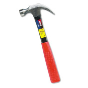 16oz Claw Hammer w/High-Visibility Orange Fiberglass Handle