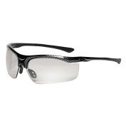 3M 13407000005 3M SmartLens Safety Glasses, Photochromatic Lens, Black Frame