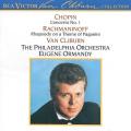 Chopin: Concerto No.1; Rachmaninov