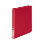 Wilson Jones Basic Vinyl Round Ring Binder, 0.2m Capacity