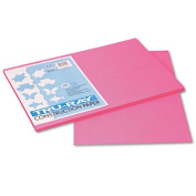 Pacon Tru-Ray Construction Paper, Sulphite, 12 x 18, Shocking Pink, 50 Sheets