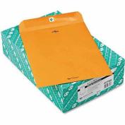 Clasp Envelope, 9 1/2 x 12 1/2, 32lb, Brown Kraft, 100/Box