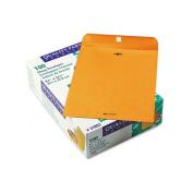 Clasp Envelope, 9 1/2 x 12 1/2, 28lb, Brown Kraft, 100/Box