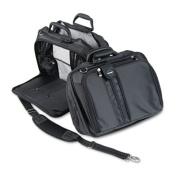 """Contour 15"""" Laptop Carrying Case, Nylon, 16-1/2 x 6-1/2 x 12-1/2, Black"""