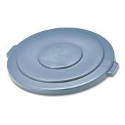 Rcp 265400GY Round Brute Lid 26-3/4 Diameter Gray