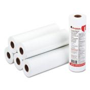 """Economical Thermal Facsimile Paper, 1"""" Core, 8-1/2"""" x 164 ft, 6/Carton"""