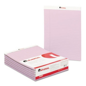 Colored Perforated Note Pads, 8-1/2 x 11, Orchid, 50-Sheet, Dozen