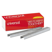 Universal Standard Chisel Point 210 Strip Count Staples, 5,000/Box
