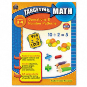 Teacher Created Resources 8994 Targeting Math