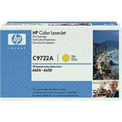 HP 641A, (C9722A) Yellow Original LaserJet Toner Cartridge
