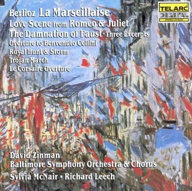 Berlioz: La Marseillaise, etc / Zinman, Baltimore SO