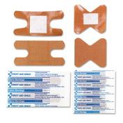 Knuckle & Fingertip Bandages, Sterilized, 5 Knuckle, 5 Fingertip, 10/Box