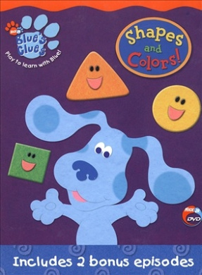 Blue's Clues - Shapes and Colors! [Region 1]