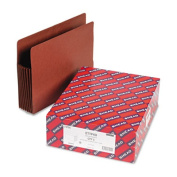 Smead Manufacturing Company SMD73795 End Tab File Pockets- 7in. Exp- Letter- Red