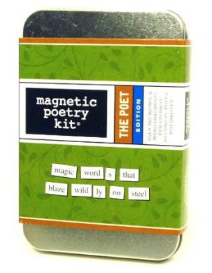 The Poet Magnetic Poetry Kit