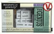 Genius Magnetic Poetry Kit
