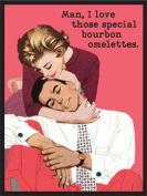 Bourbon Omelettes