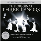 The Original Three Tenors 20Th Anniversary Edition [CD/DVD]