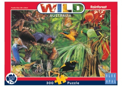 B Opal Wild Aust Rainforest Puzzle - 300pc