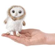Finger Puppet - Folkmanis - Mini Owl Barn New Animals Soft Doll Plush Toys 2645