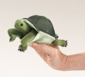 Folkmanis Turtle Finger Puppet 15cm