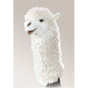 Alpaca Stage Puppet by Folkmanis - 2885