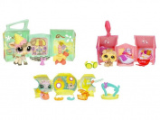 Littlest Pet Shop Pets On the Go Mini Pet Carrier Scoops N' Shake Shop with Cow