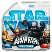 Star Wars Galactic Heroes 2010 2 Pack - Luke Skywalker & Darth Vader