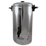 80-Cup Percolating Urn, Stainless Steel