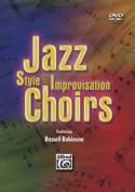 Alfred 00-SVBM05001 Jazz Style and Improvisation for Choirs - Music Book [Region 2]