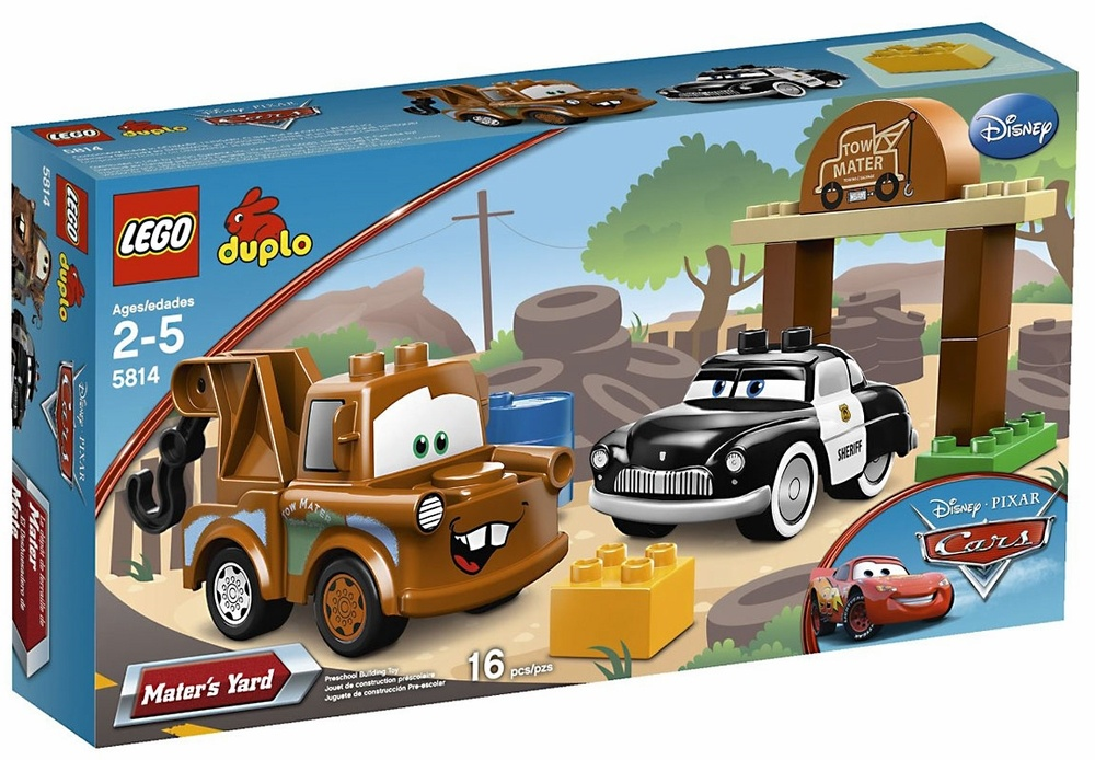 Lego Duplo Cars Maters Yard 5814 Lego Duplo Shop Online For Toys