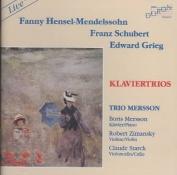 Schubert, Grieg, Fanny Mendelssohn