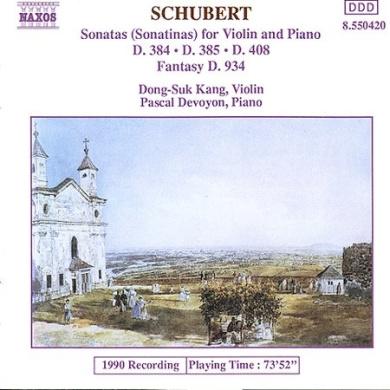 Schubert: Sonatinas for Violin & Piano