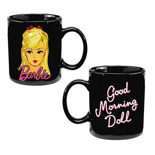 Barbie Good Morning Doll Ceramic Mug By Barbie Shop Online For