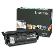 X651H11A High-Yield Return Program Toner, 25000 Pg-Yld, Black