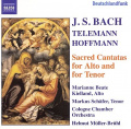 Bach, Hoffman, Telemann