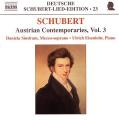 Deutsche Schubert-Lied-Edition - Austrian Contemporaries 3
