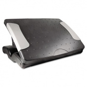 Deluxe Adjustable Footrest, 18w x 13-1/2d x 4h, Black