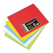 Astrobrights Premium Poster Board, 14 x 12, Five Assorted Colors, 50/Carton