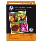 Bright White Inkjet Paper, 97 Brightness, 24lb, 8-1/2 x 11, 500 Sheets/Ream