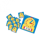 Write-On/Wipe-Off Clocks Classroom Set, Learning Clock, for Grades 1 and Up