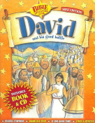 David and His Giant Battle [With Book] [Audio]
