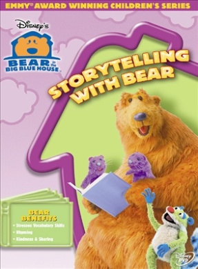 Bear in the Big Blue House - Storytelling With Bear [Region 1]
