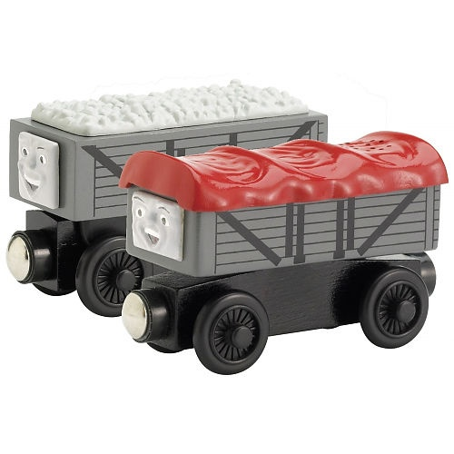 Wooden Railway Giggling Troublesome Trucks