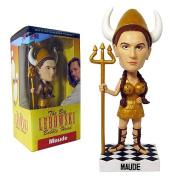 The Big Lebowski Maude Bobblehead - Bowling Viking