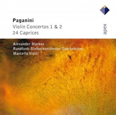 Paganini: Violin Concertos 1& 2, 24 Caprices / Alexander Markov, et al