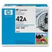 HP 42A, (Q5942A) Black Original LaserJet Toner Cartridge