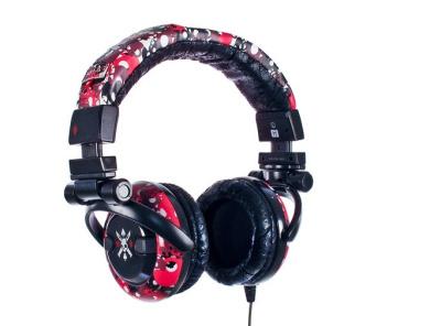 Skullcandy G.I. Red Print Headphones