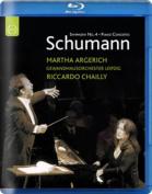 Schumann - Piano Concerto in A minor Op. 54/Symphony No. 4 in D minor Op. 120 [Region B] [Blu-ray]